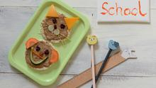 Animal-Faced Rice Cakes are a great back to school recipe for fussy eaters