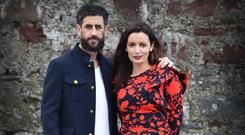 Paul Galvin Fashion with his wife Louise Duffy .Picture: Dominick Walsh