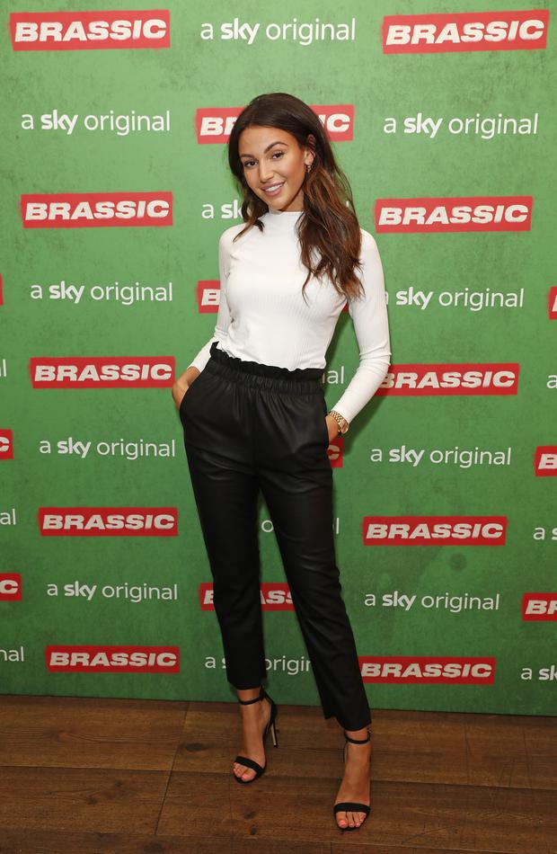 LONDON, ENGLAND - JULY 30: Michelle Keegan attends the preview of Sky original Brassic, all episodes of the comedy drama available August 22 on July 30, 2019 in London, England. (Photo by David M. Benett/Dave Benett/Getty Images for Sky)