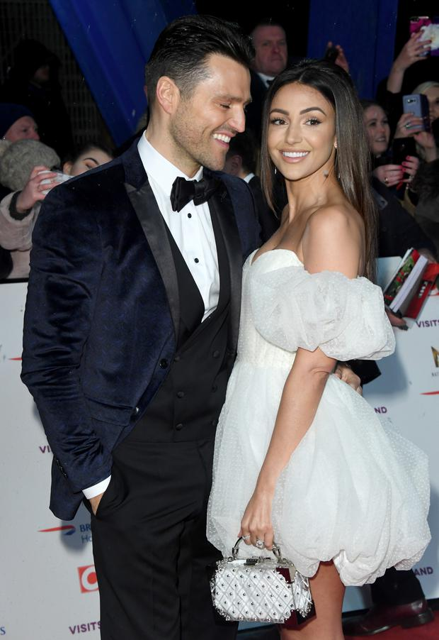 Mark Wright and Michelle Keegan attends the National Television Awards held at the O2 Arena on January 22, 2019 in London, England. (Photo by Stuart C. Wilson/Getty Images)