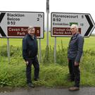 Fr Brian D'Arcy, met up with John Sheridan, a beef and sheep farmer, with 1,150 acres to farm on the Co Fermanagh,& Cavan Border.