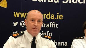 """""""We all have an individual responsibility to ensure we continue to play our part in reducing the spread of Covid-19 to protect our family, friends and neighbours,"""" said Garda Deputy Commissioner John Twomey"""