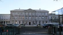 Leinster House, Dublin, the seat of the Oireachtas (Brian Lawless/PA)