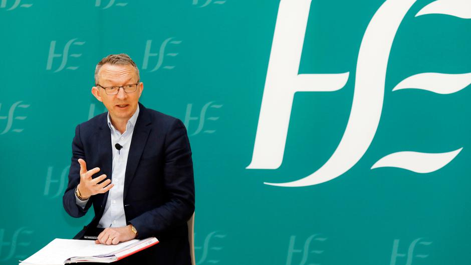 HSE chief clinical officer Dr Colm Henry said people in their 60s have 'much more to fear' from Covid-19 than they do from the AstraZeneca vaccine (Leon Farrell/Photocall Ireland/PA)