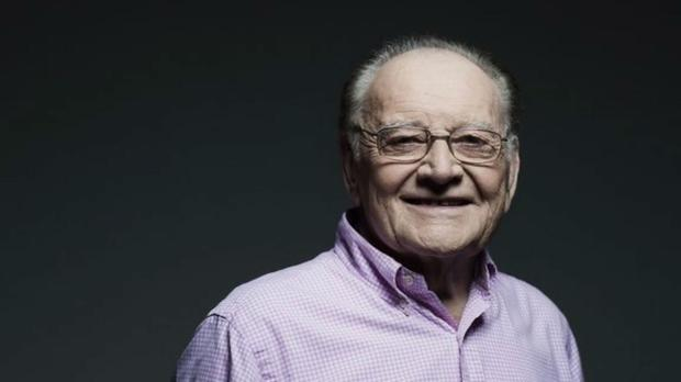 Larry Gogan died on Tuesday aged 85. Photo: RTE/PA