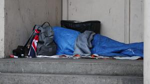 Many businesses are opening their doors to homeless people