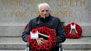 Pardoned Irish soldier Phil Farrington has died at the age of 94