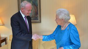 Martin McGuinness has met with the Queen during previous royal visits to Northern Ireland