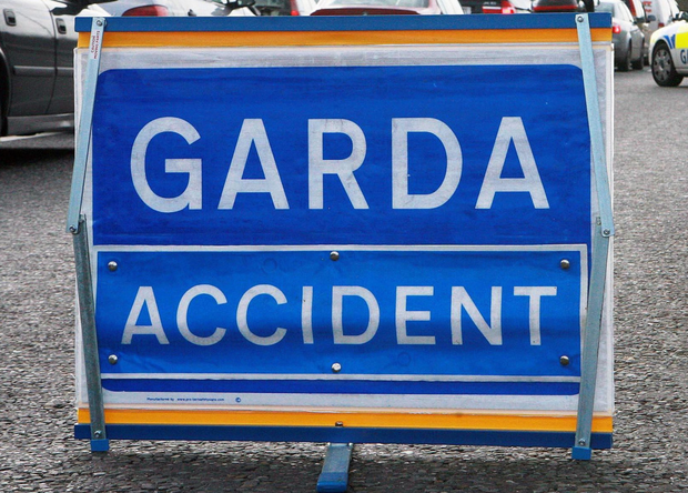 Accident sign (stock photo)