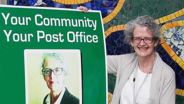 Seona O'Fegan is to stand in the general election as a Community and Post Office candidate