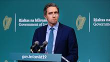 Health Minister Simon Harris signed beefed-up enforcement powers for gardai on Tuesday night (Steve Humphreys/PA)