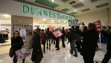 Workers at Dunnes are on a one-day strike
