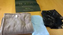 Replicas of objects found with a newborn baby who had been abandoned (Garda Press Office/PA)