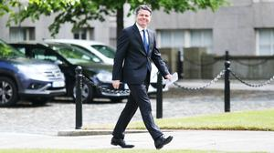 Paschal Donohoe said he will act to ensure the wage subsidy scheme includes new mothers returning to work (PA)