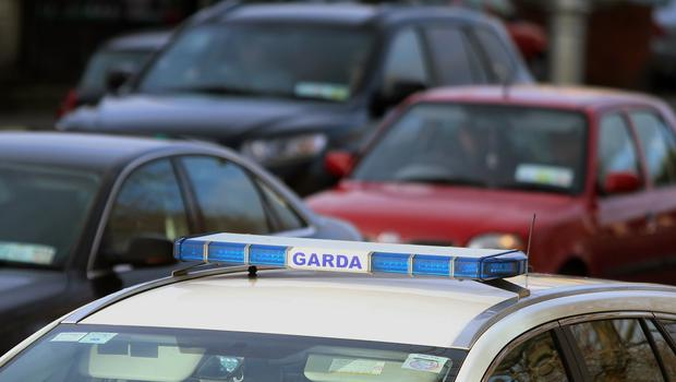 Gardai were on mobile patrol shortly after 3am when they received a report about two men breaking into a vehicle Photo: Niall Carson/PA Wire