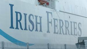 A new ship being built in a German shipyard is not likely to be ready for delivery to Irish Ferries in time to honour bookings for sailings in July. Photo: PA