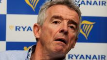 Ryanair's chief executive Michael O'Leary (Nick Ansell/PA)