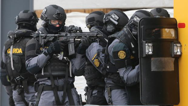 Members of the Garda Emergency Response Unit made the arrests  (Stock image)