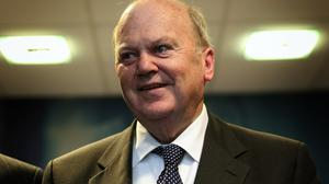 Finance Minister Michael Noonan said that he welcomed the IMF's statement