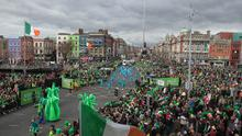 St Patrick's Day Festival (stock picture)