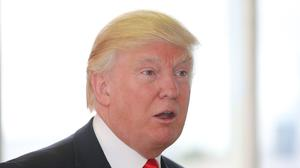 Donald Trump's plans to build a 2.8km sea rock barrier beside his Doonbeg Golf Links course have been branded naive
