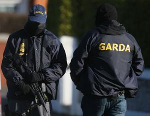 The investigation follows searches by gardai in October when they seized bank accounts containing almost 250,000 euros (Niall Carson/PA)