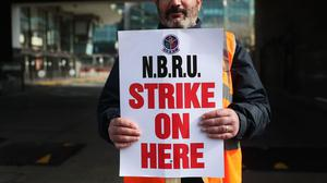 About 2,600 workers walked out last Friday following a dispute with Bus Eireann management over potential 30% pay cuts