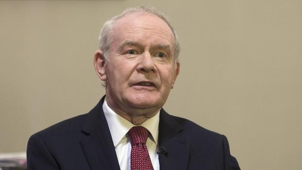 Martin McGuinness has died aged 66 Photo: PA
