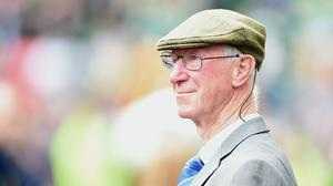 Tributes have been paid in Ireland to former national football team manager Jack Charlton (PA)