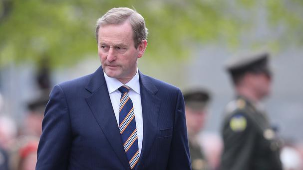 Premier Enda Kenny has conceded a major shift in Ireland's political landscape