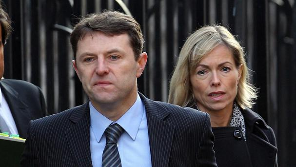 A Washington-based company is said to have received around £300,000 from backers of Kate and Gerry McCann