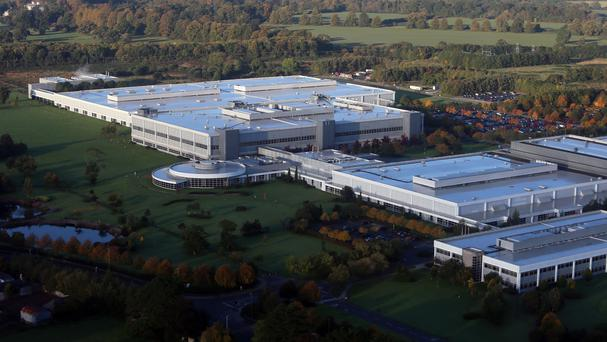 HP's Irish assets include the Liffey Park Technology Campus in Leixlip.