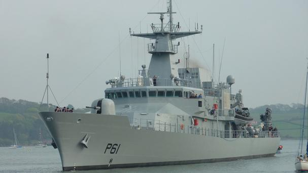Taoiseach Enda Kenny confirmed that the Naval Service will get a third new patrol vessel (Ireland Defence Force/PA)