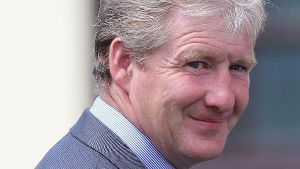 Racehorse trainer Philip Fenton arrives at Carrick-on-Suir District Court in Co Tipperary