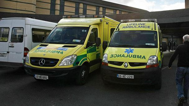 The union said it was writing to the chief ambulance officer at the HSE to clarify if the specific model of Mercedes Benz ambulance was prone to fire in other countries