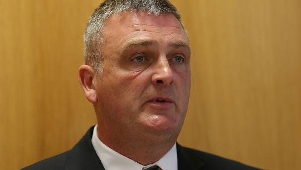 Garda Siochana Ombudsman chairman Simon O'Brien brushed aside calls for the commissioners to resign