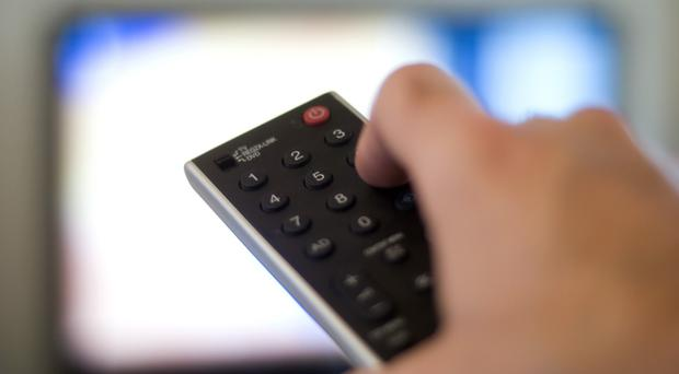 In Greece, the TV licence fee is obligatory and also paid through electricity bills. Stock Image