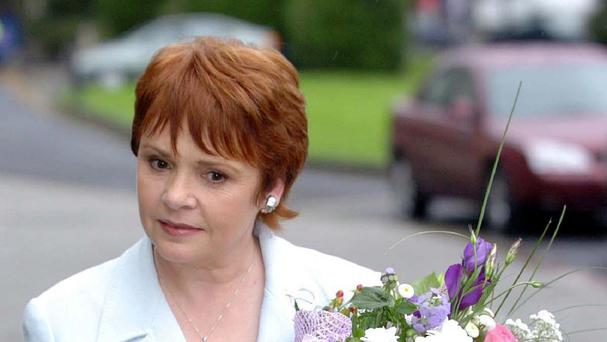 Eurovision Song Contest winner and former Irish presidential candidate Dana Scallon, whose brother denies sex abuse allegations