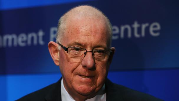 Foreign Affairs Minister Charlie Flanagan