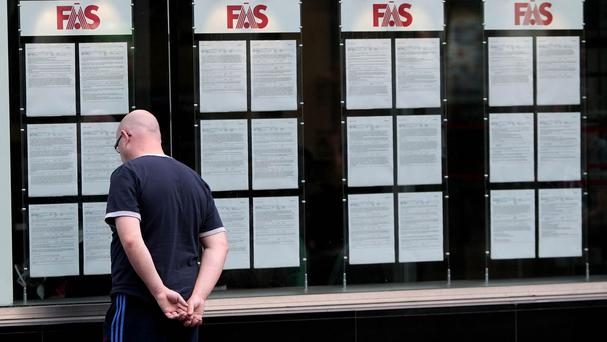 The rate of joblessness continues to slide, the latest figures show