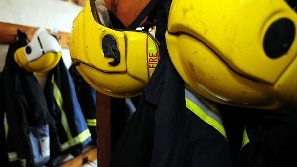 Emergency services took two hours to bring the blaze under control, as gardaí controlled traffic