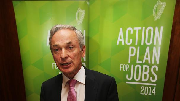 Minister Richard Bruton - 1,500 new jobs in next three years.