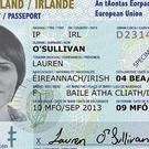 The front of the new Irish Passport Card, which will be accepted for travel within the European Union and the European Economic Area (Department of Foreign Affairs and Trade/PA)
