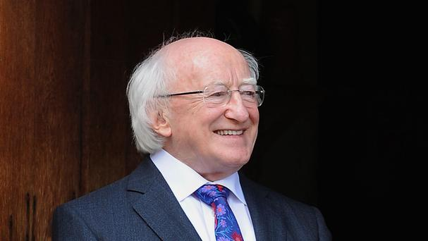 President Michael D Higgins says governments need to reclaim power on making economic decisions