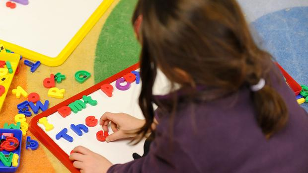 Hard-pressed parents are set to benefit from a plan to use schools to provide low-cost evening time childcare.