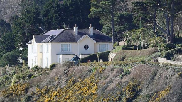 A view of Gorse Hill, off Vico Road, in Killiney, which Brian O'Donnell and wife Mary Patricia must vacate by the end of the month