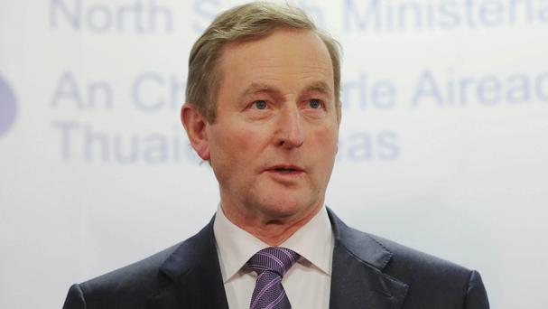 Enda Kenny may want to be remembered as the man at the helm when the economy and country was saved