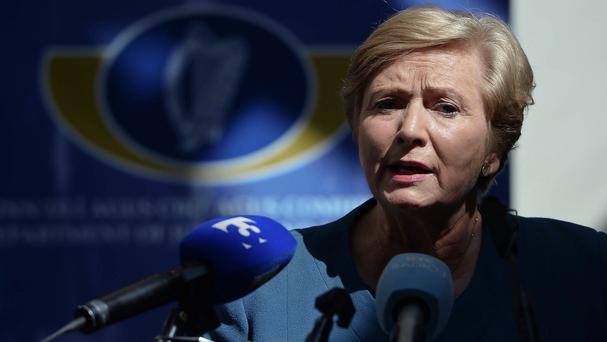 Justice Minister Frances Fitzgerald has warned that it is
