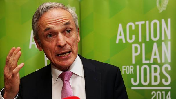 Jobs Minister Richard Bruton