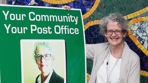 Galway postmistress Seona O'Fegan is among eight candidates across the country set to contest the general election for the group